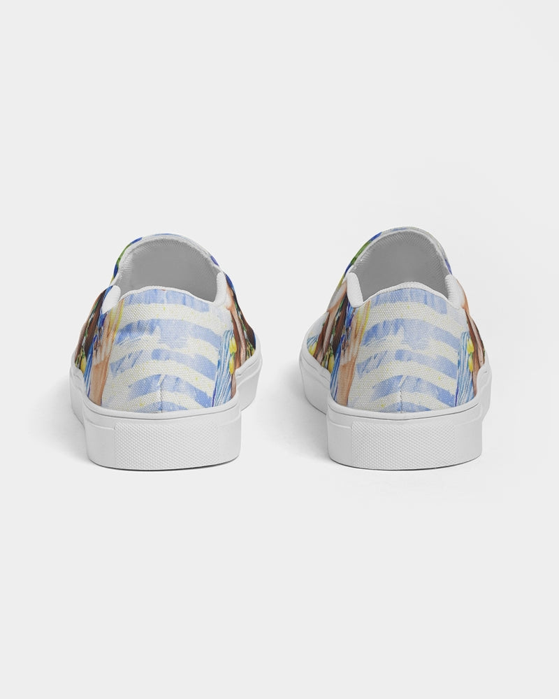 Lemons Fashion Women's Slip-On Canvas Shoe
