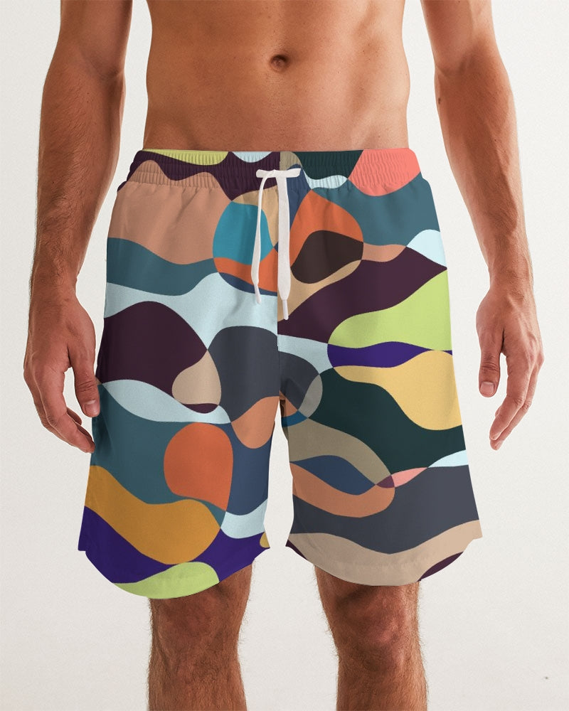 Summer Garden Men's Swim Trunk