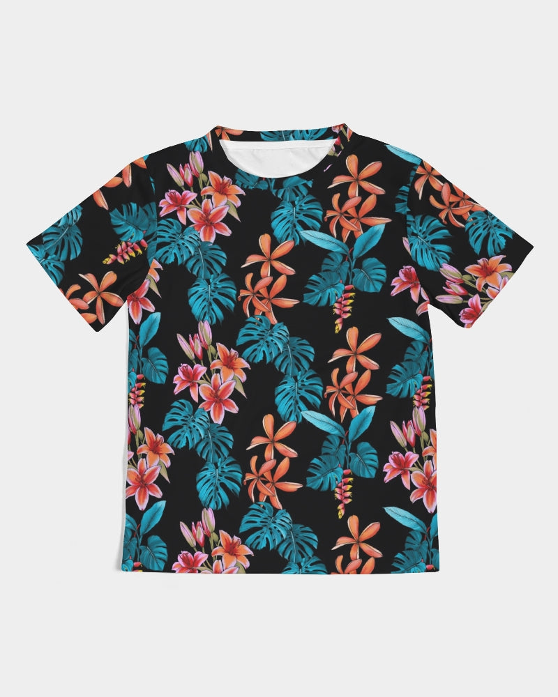 Floral Party Kids Tee