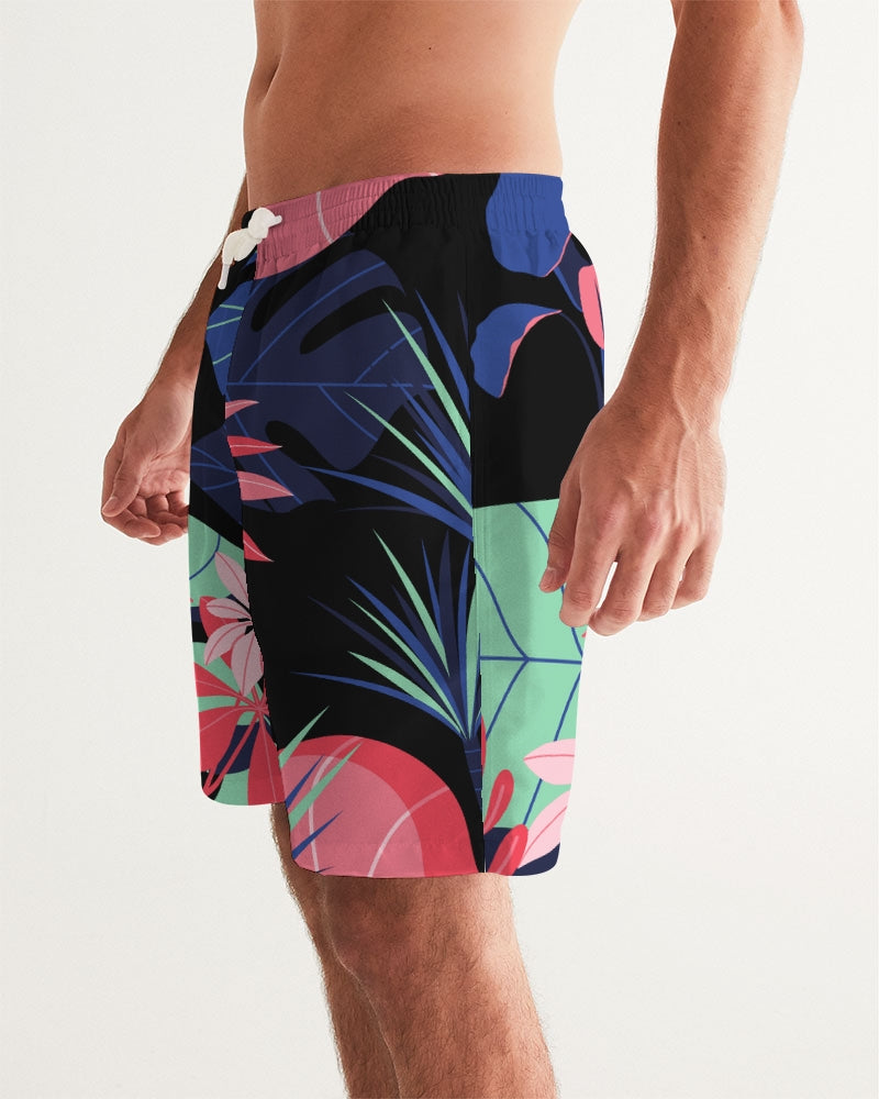 Night Forest  Men's Swim Trunk
