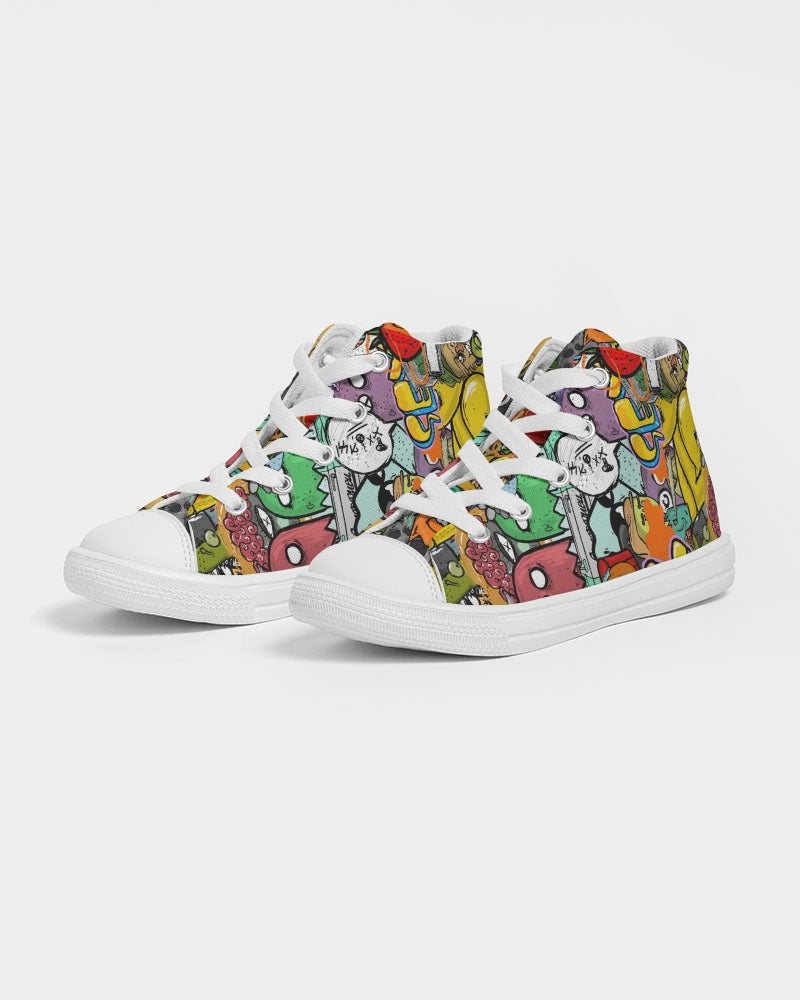 Crowded Street Kids Hightop Canvas Shoe