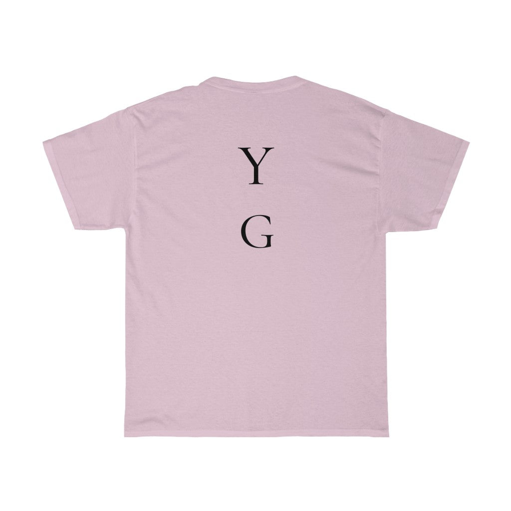 "2 Slept On ""YG"" Heavyweight T-shirt"