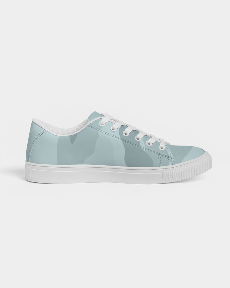 Pop Camo Women's Faux-Leather Sneaker