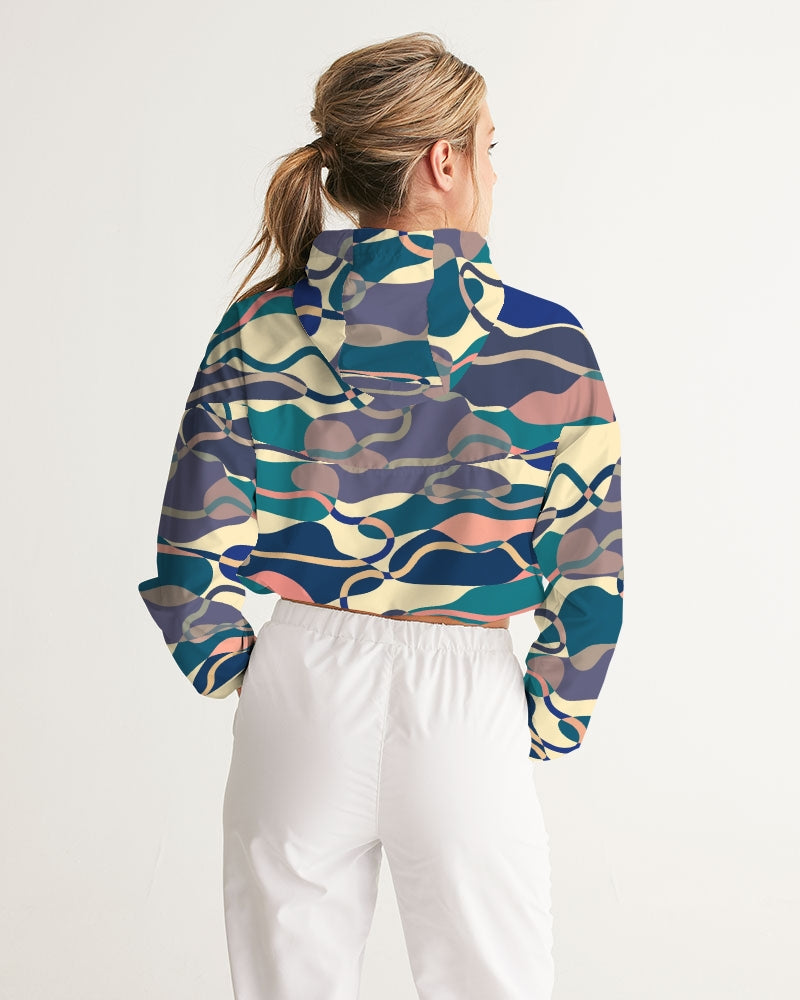 Lake Women's Cropped Windbreaker