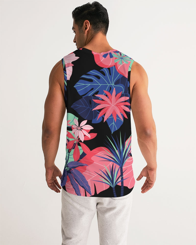 Night Forest  Men's Sports Tank