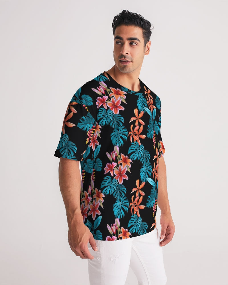 Floral Party Men's Premium Heavyweight Tee