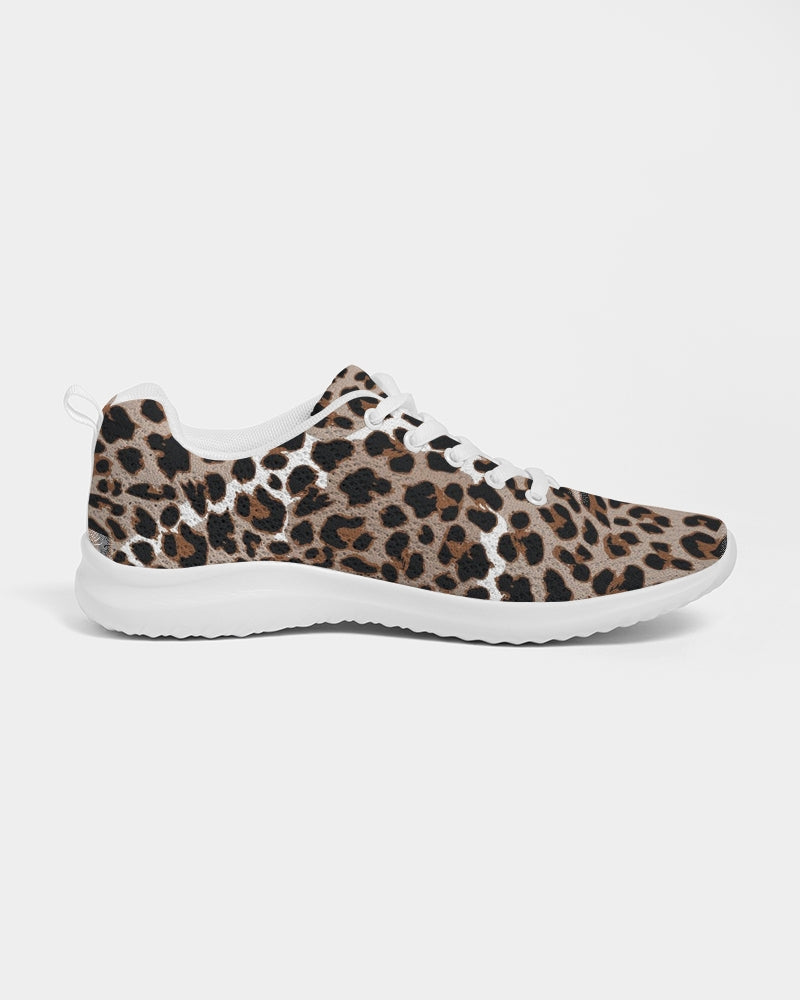 Leopard Fur Women's Athletic Shoe