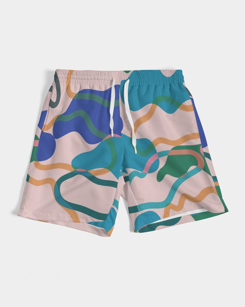 Cotton Candy Men's Swim Trunk