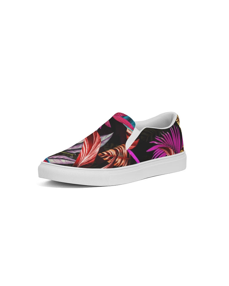 Foliage Feather Women's Slip-On Canvas Shoe
