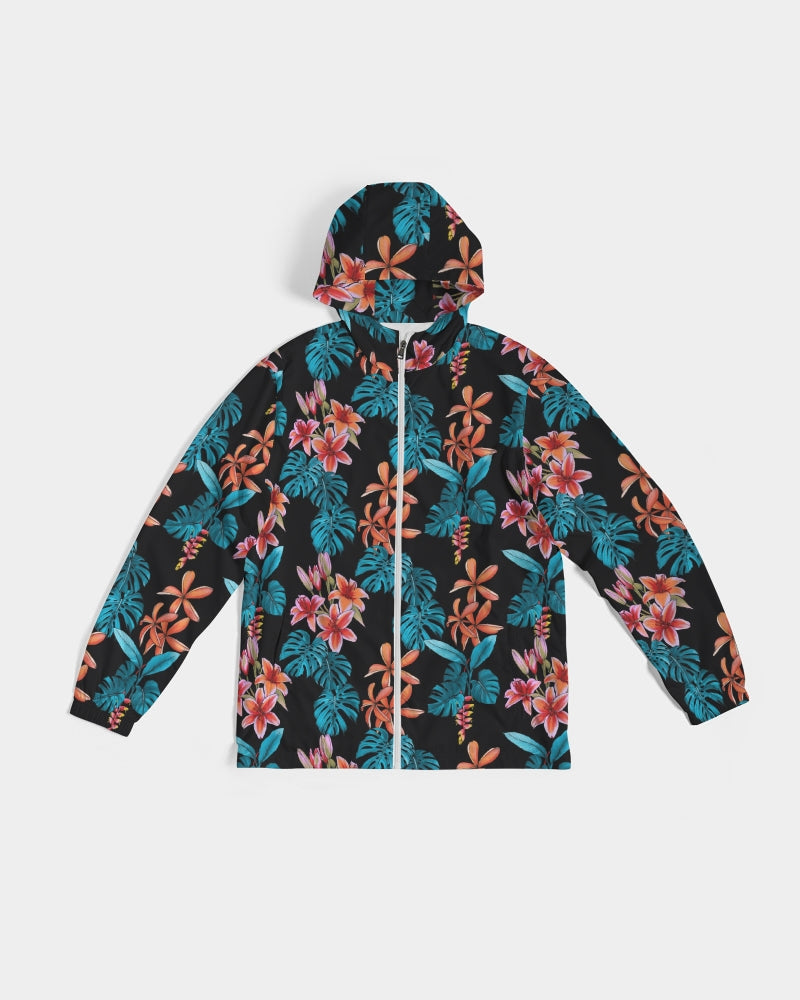 Floral Party Men's Windbreaker