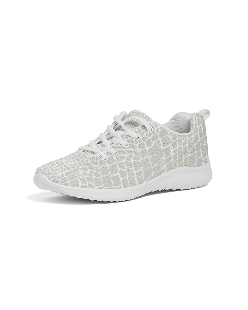 Alligator Print Women's Athletic Shoe