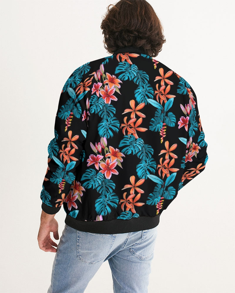 Floral Party Men's Bomber Jacket