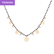 Load image into Gallery viewer, Boho Multi-Coin Necklace