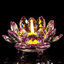 Load image into Gallery viewer, Lotus Flower Candlestick Holder