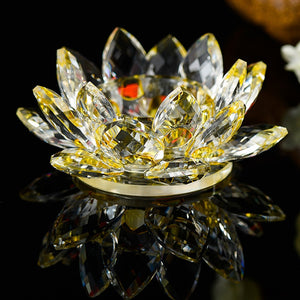 Lotus Flower Candlestick Holder