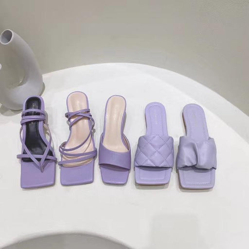 Taro Purple Sandals