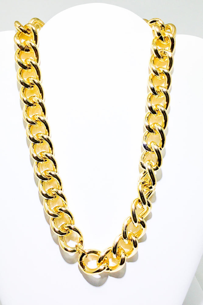 80's Gold Chain Necklace