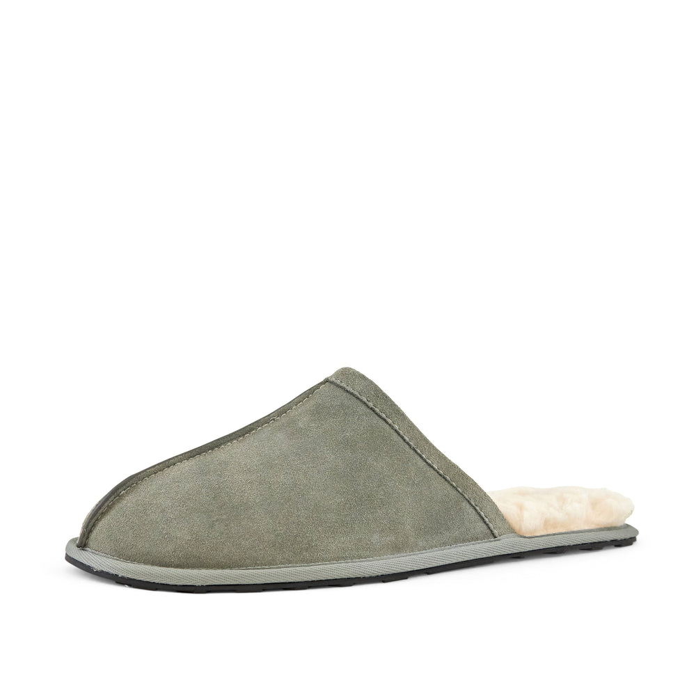 Men's Snuggle Slippers Grey