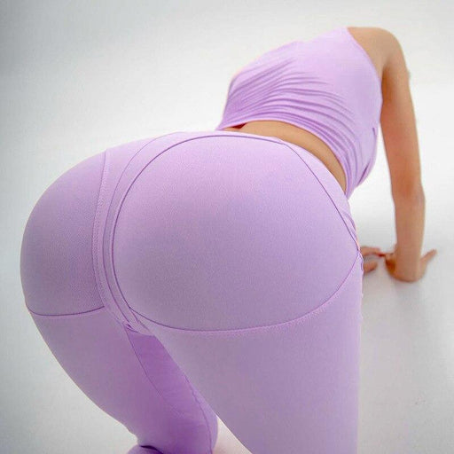 Autumn Seamless Letter Yoga Leggings Fitness Gym Yoga Pantalones High