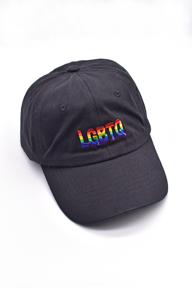 Rainbow LGBTQ Baseball Hat