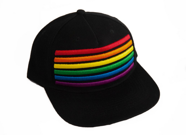 LGBT Pride Rainbow Snap Back Hat
