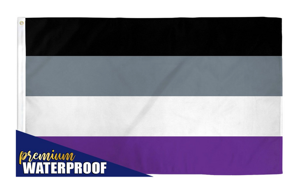 Asexual Pride Flag 3' x 5'