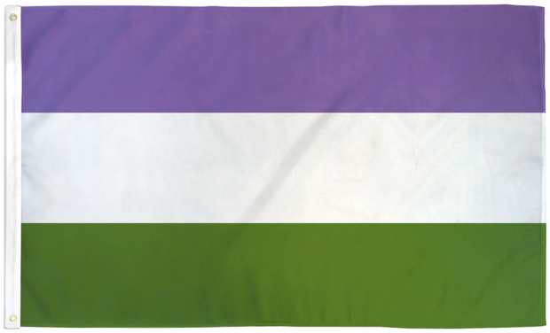 Gender Queer Pride Flag 3' x 5'
