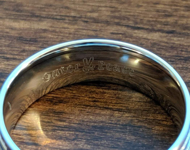 Non-Binary Pride Stainless Steel Ring