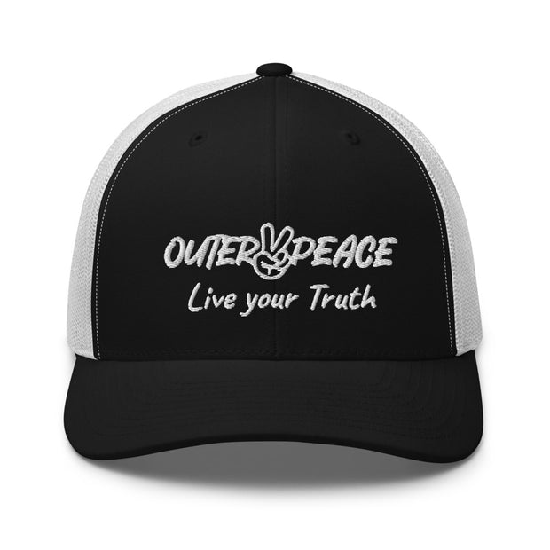 Outer Peace Live Your Truth Trucker Cap
