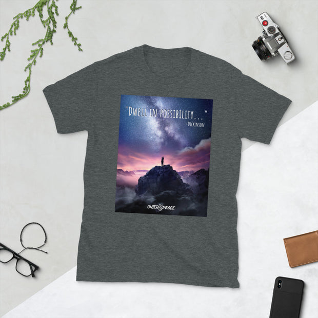 """Dwell in Possibility"" Short-Sleeve Unisex T-Shirt"