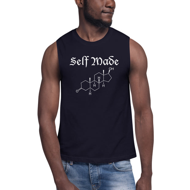 Self Made Testosterone Muscle Shirt