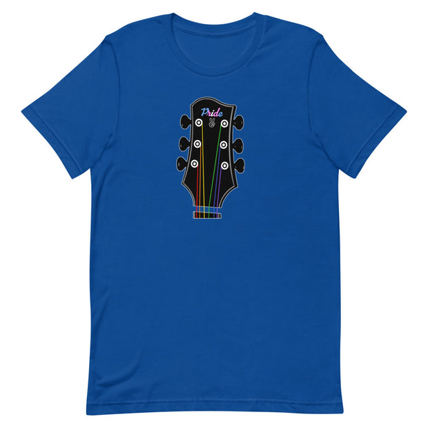 Pride Guitar Short-Sleeve Unisex T-Shirt