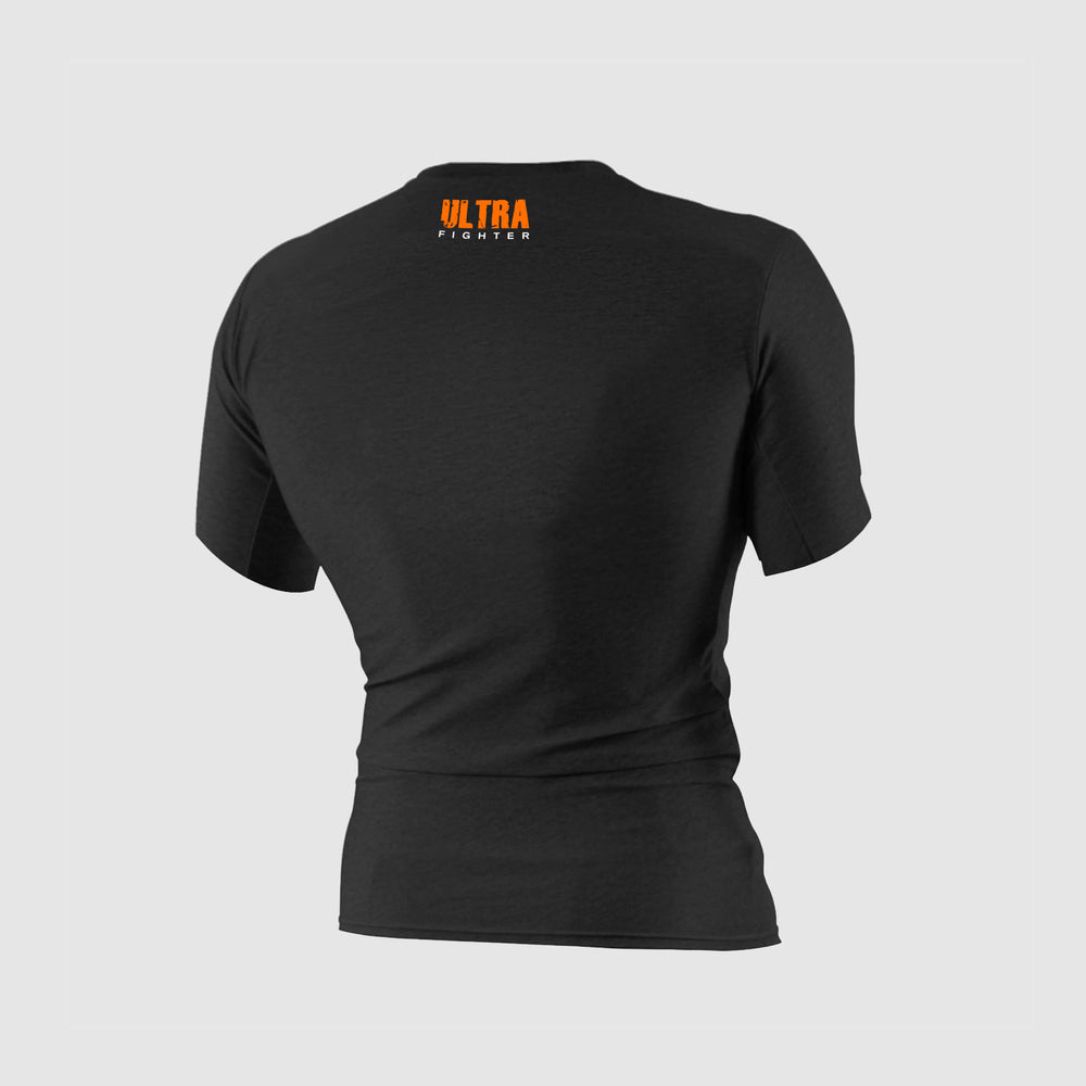 Rashguard Ultra Orange pour du training, entrainement de boxe, kickboxing, muay thai