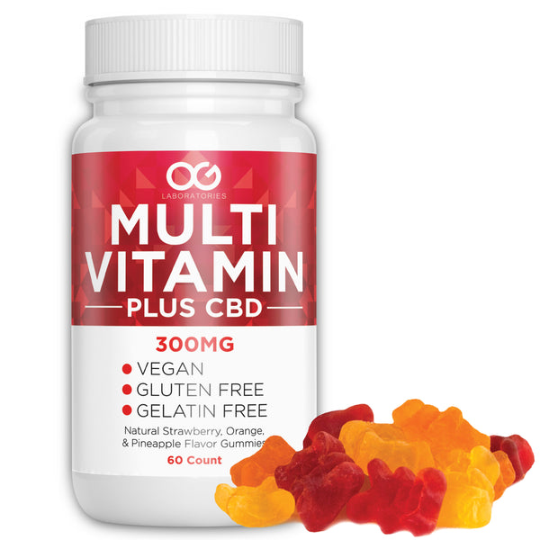 Multi Vitamin and CBD Vitamin Gummies (60 Count)