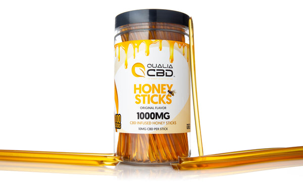 Qualia CBD Honey Sticks 1000MG