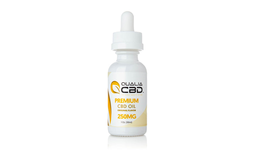 Qualia CBD Isolate Oil Tinctures