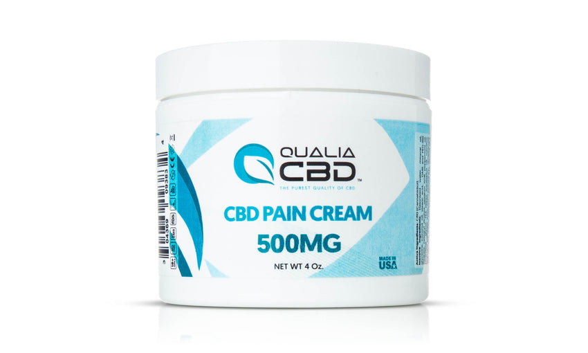 Qualia CBD Pain Cream 4 oz 500MG