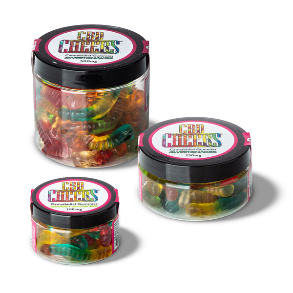 Cheers CBD Infused Sweet Snake Gummies