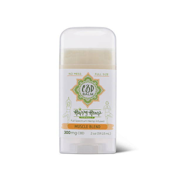 300mg CBD No-Mess Balm - Muscle