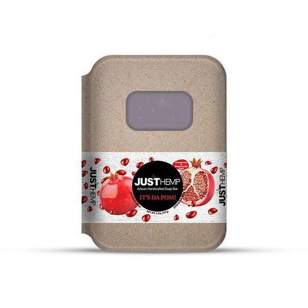 Hemp Soap – Pomegranate