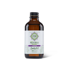 300mg CBD Body/ Massage Oil - Scented with Lavender
