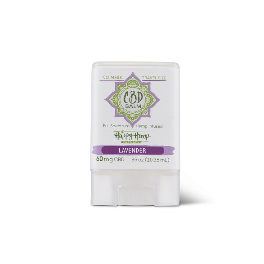 60mg No Mess CBD Mini Balm - Lavender