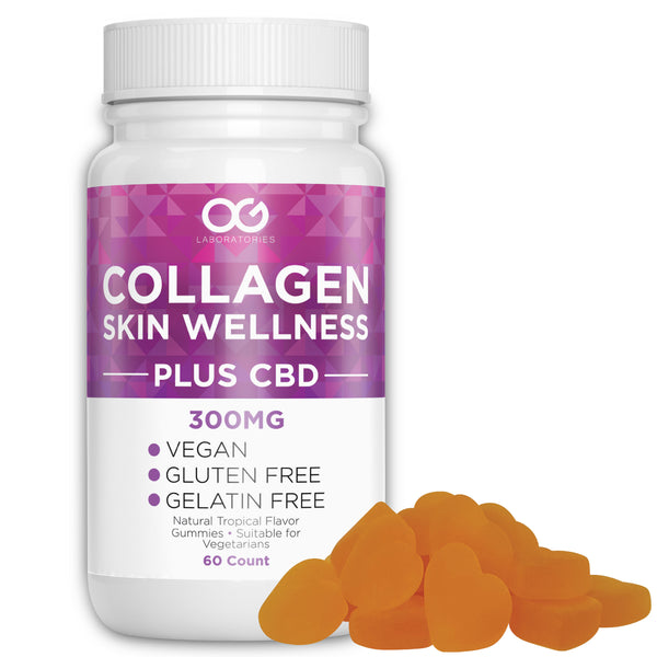 Collagen and CBD Vitamin Gummies (60 Count)