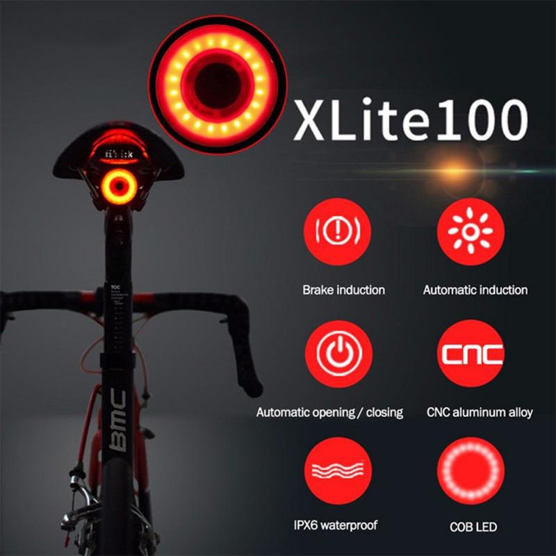 XLite100 Waterproof LED Smart Brake