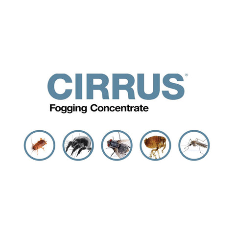 Cirrus Fogging Concentrate, d phenothrin, tetramethrin, permethrin (General Pest Control)