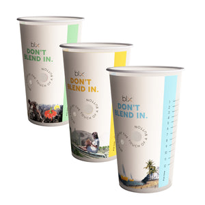 Pack of 6 Reusable Cups