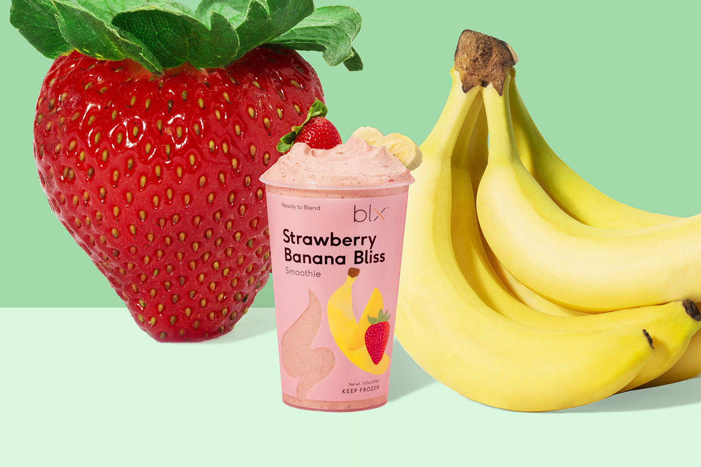Strawberry Banana Bliss