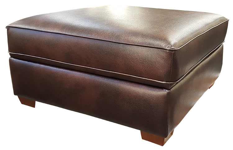 112-35 Square Storage Cocktail Ottoman