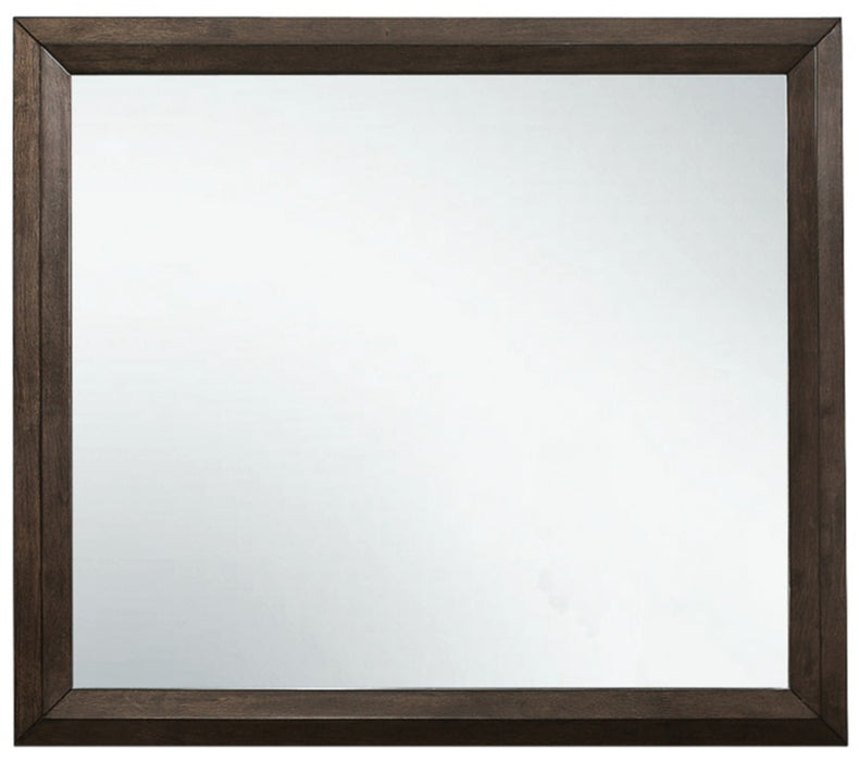 Homelegance Chesky Mirror in Warm Espresso 1753-6 image