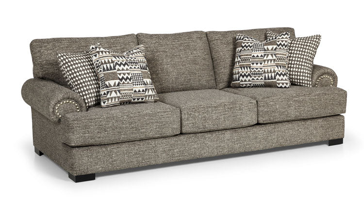 290-81 Oslo Tux - Big Sky Onyx - Badlands Onyx Large Sofa